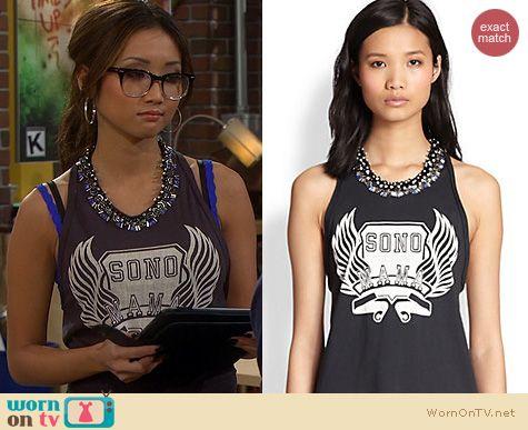 Fashion of Dads: 3.1 Phillip Lim Sono Mama Tank worn by Brenda Song