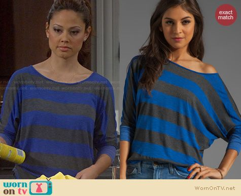 Dads Fashion: Market Frida Striped Top worn by Vanessa Lachey