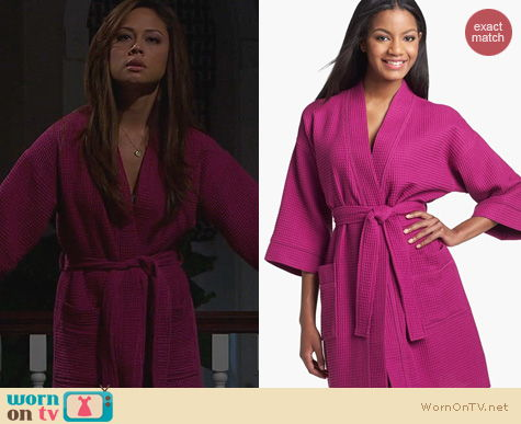 Dads Fashion: Nordstrom Waffle Cotton Robe worn by Vanessa Lachey