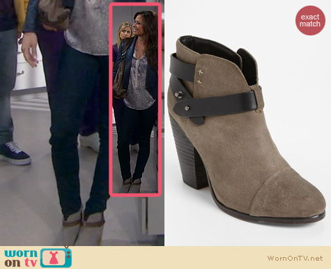 Dads Shoes: Rag & Bone Harrow Bootie worn by Vanessa Lachey