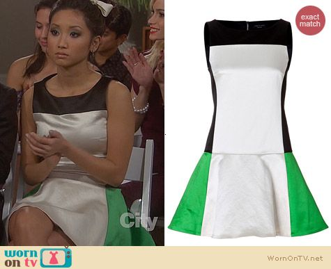 Fashion of Dads: Rag & Bone Sofia Dress worn by Brenda Song