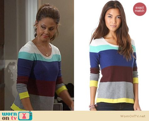 Fashion of Dads: Splendid Brighton Sweater worn by Vanessa Lachey