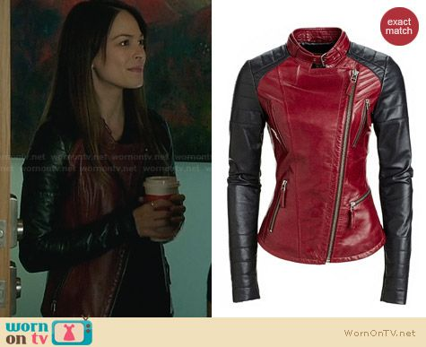 Danier Leather Jacket 104020173 worn by Kristen Kreuk on BATB