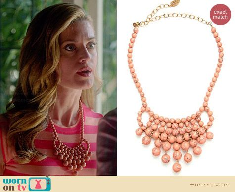 David Aubrey NRM114 Necklace worn by Brooke D'Orsay on Royal Pains