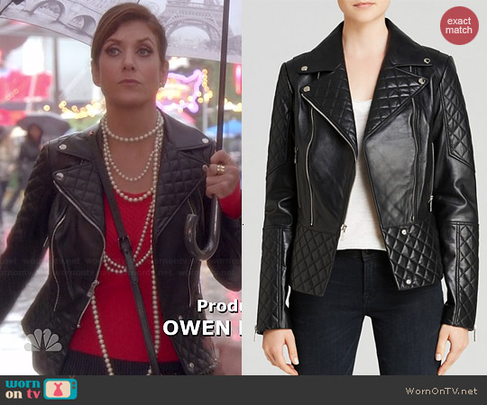 Dawn Levy Dakota Jacket worn by Kate Walsh on Bad Judge