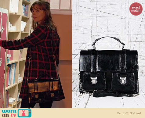 Deena & Ozzy Vintage Style Satchel worn by Jenna Coleman on Doctor Who