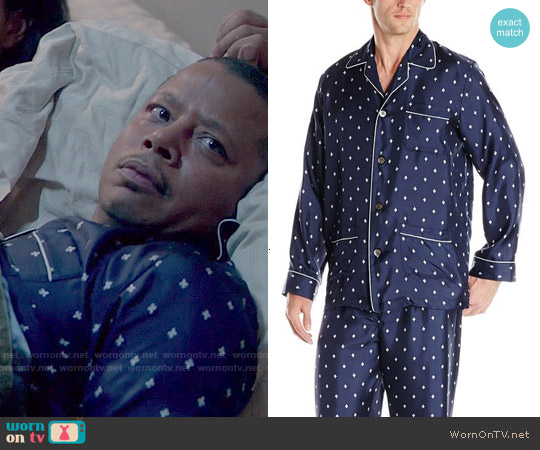 Derek Rose Otis Pajamas worn by Terrence Howard on Empire