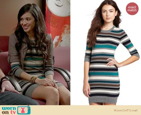 Devious Maids Fashion: French Connection Jazz Knit sweater dress worn by Edy Ganem