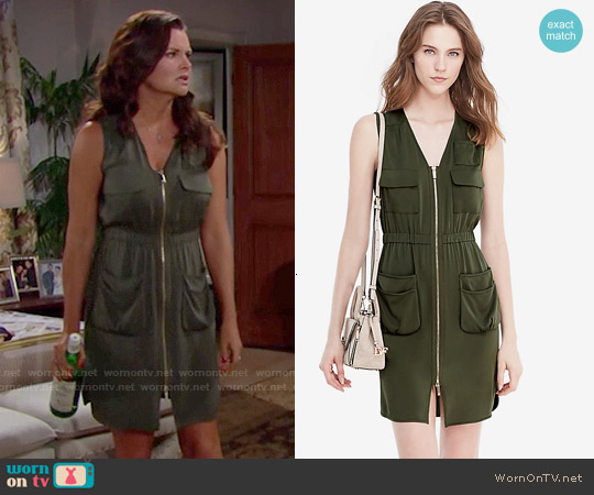 Diane von Furstenberg Adara Dress worn by Heather Tom on The Bold & the Beautiful