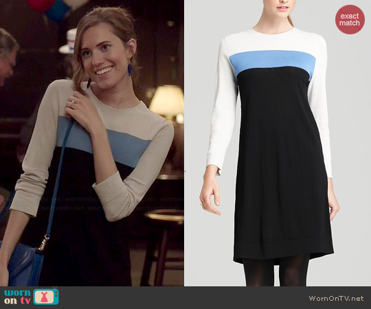 Diane von Furstenberg Aina Dress worn by Allison Williams on Girls