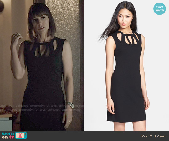 Diane von Furstenberg Amy Cutout Dress worn by Constance Zimmer on UnReal