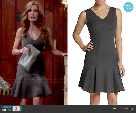 Diane von Furstenberg Carla Dress worn by Tracey Bregman on The Young & the Restless