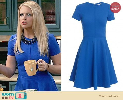 Diane von Furstenberg Ivana Dress worn by Melissa Joan Hart on Melissa & Joey