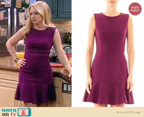 Diane von Furstenberg Jaelyn Dress worn by Melissa Joan Hart on Melissa & Joey