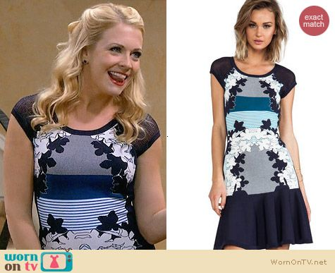 Diane von Furstenberg Jalen Dress worn by Melissa Joan Hart on Melissa & Joey