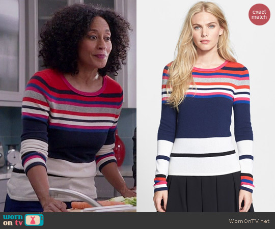 Diane von Furstenberg Jolanta Sweater worn by Tracee Ellis Ross on Black-ish