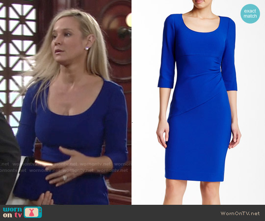 Diane von Furstenberg Lillian Dress worn by Sharon Case on The Young & the Restless