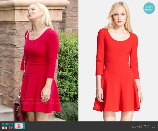 Diane von Furstenberg Paloma Dress worn by Sharon Case on The Young & the Restless