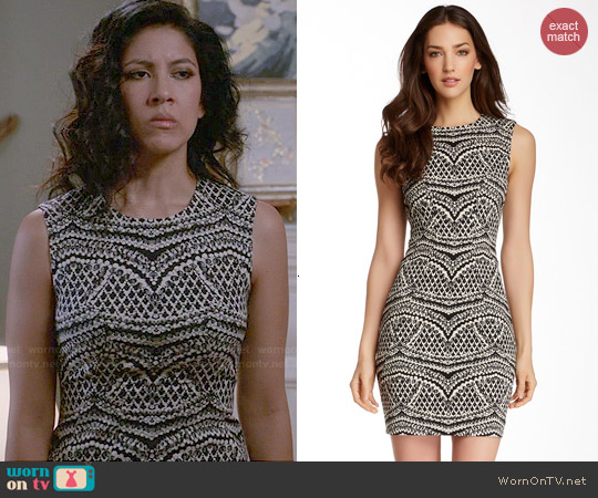 Diane von Furstenberg Pentra Dress worn by Rosa Diaz on Brooklyn Nine-Nine