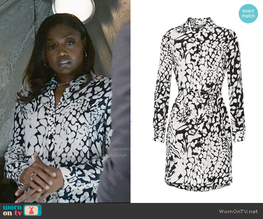 Diane von Furstenberg Prita Dress worn by Patina Miller on Madam Secretary