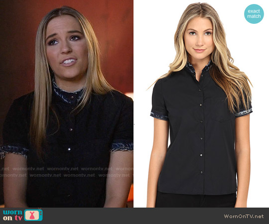 Diesel C-Levi Shirt worn by Hayden Panettiere on Nashville