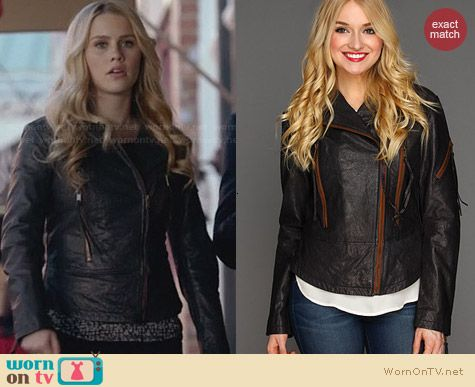 Diesel Nix Jacket worn by Claire Holt on The Originals