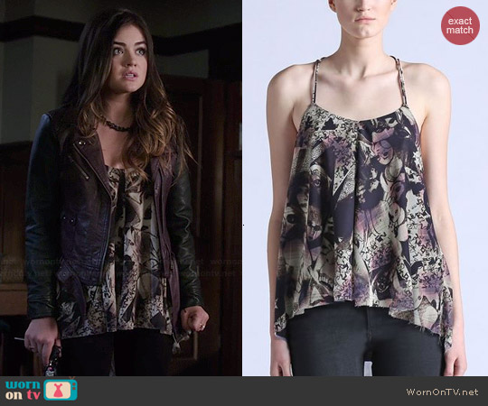 Diesel Stella Top in Marine worn by Lucy Hale on PLL