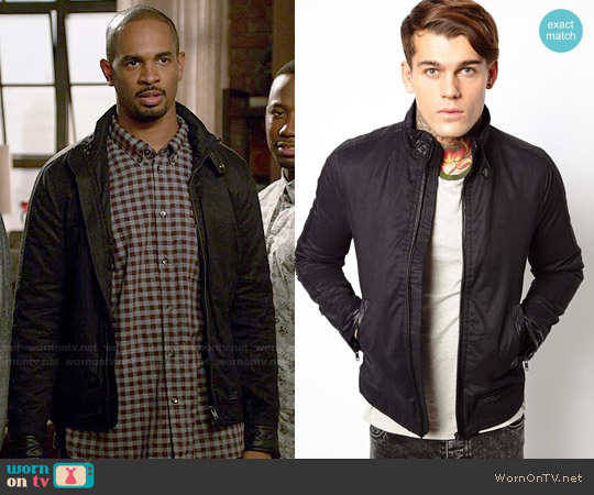 Diesel J-Thalia Jacket worn by Damon Wayans Jr on New Girl