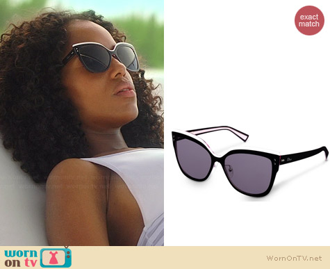 Dior Exquise Sunglasses worn by Kerry Washington on Scandal