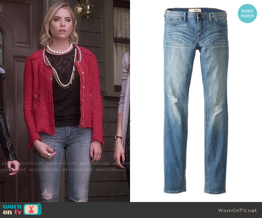 Ditto jessica Low rise Jegging worn by Hanna Marin on PLL