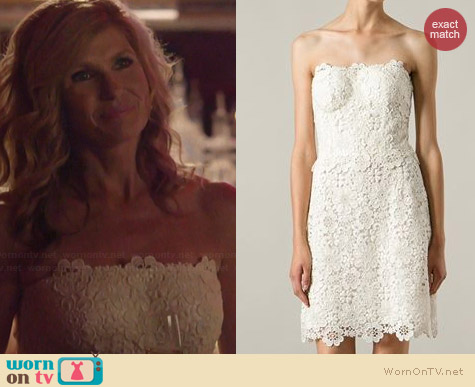 Dolce & Gabbana Lace Dress worn by Connie Britton on Nashville