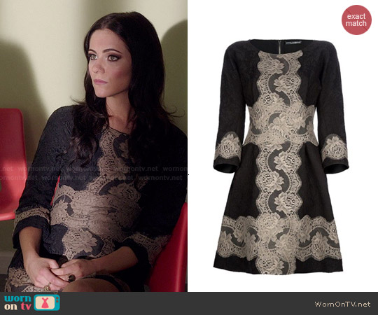 Dolce & Gabbana Lace Dress worn by Alexandra Park on The Royals