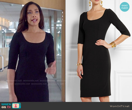 Dolce & Gabbana Stretch Wool Dress worn by Gina Torres on Suits