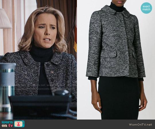 worn by Elizabeth McCord (Téa Leoni) on Madam Secretary