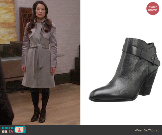 Dolce Vita Hilary Bootie worn by Joan Watson on Elementary