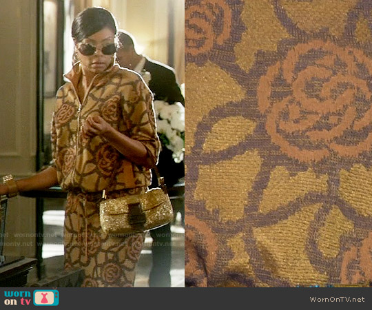 Dries van Noten Spring 2016 Collection Jacket and Skirt worn by Taraji P. Henson on Empire