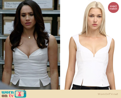 Dsquared2 S73NC0282 S42813 Top worn by Meghan Markle on Suits