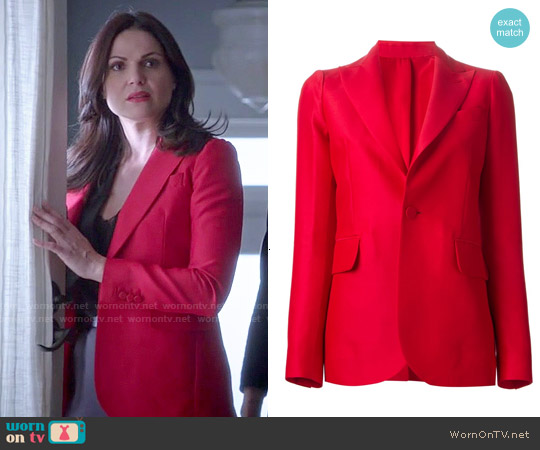 DSquared2 Classic Blazer worn by Lana Parrilla on OUAT