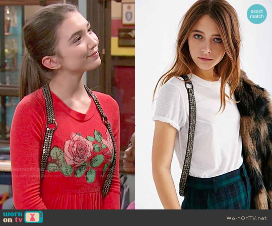 Ecote Embellished Harness worn by Riley Matthews on Girl Meets World