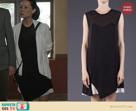 Elementary Fashion: Phillip Lim Layered Tee Dress worn by Lucy Liu