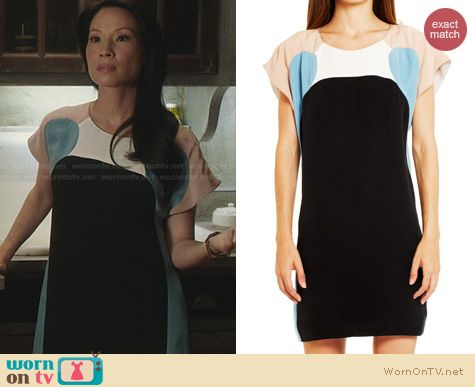 Elementary Fashion: Rebecca Minkoff Otis dress worn by Lucy Liu