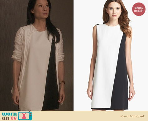 Fashion of Elementary: Theory Randala Dress worn by Lucy Liu