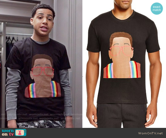 Eleven Paris Urkel Graphic Tee worn by Marcus Scribner on Blackish