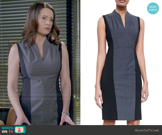 Elie Tahari Amabel Dress worn by Paget Brewster on Community