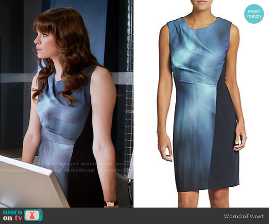 Elie Tahari Amymarie Dress worn by Danielle Panabaker on The Flash