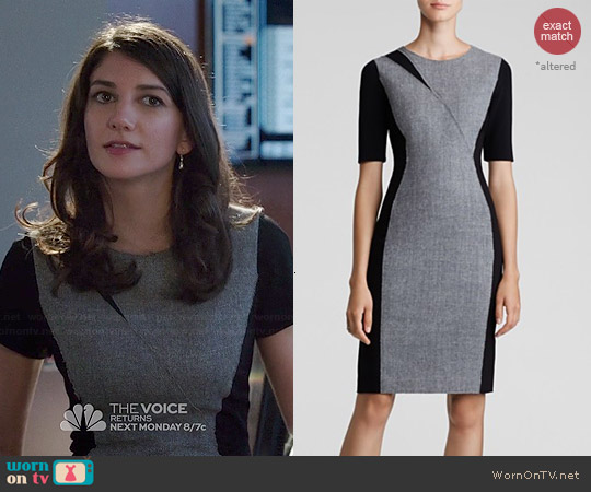 Elie Tahari Axel Sheath worn by Sheila Vand on State of Affairs
