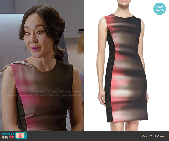 Elie Tahari Isabella Dress worn by Yunjin Kim on Mistresses