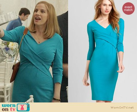 Elie Tahari Lynn Dress worn by Anna Chlumsky on Veep