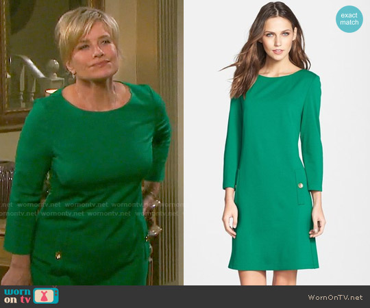 Elia J Ponte A-Line Dress worn by Mary Beth Evans on Days of our Lives