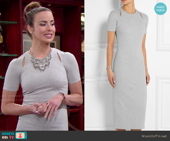 Elizabeth & James Bayli Dress worn by Ashleigh Brewer on The Bold & the Beautiful